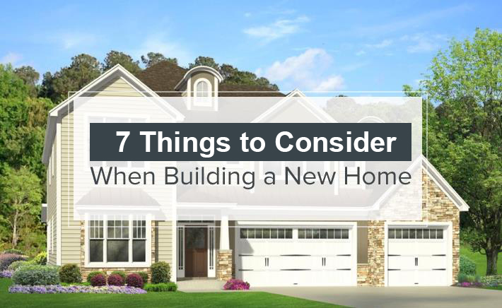 7 things to consider when building a new home mc custom for Things to include when building a house