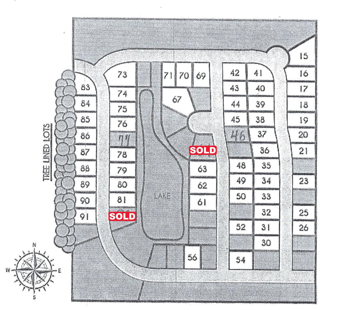 Channahon Whispering Oaks Site Plan
